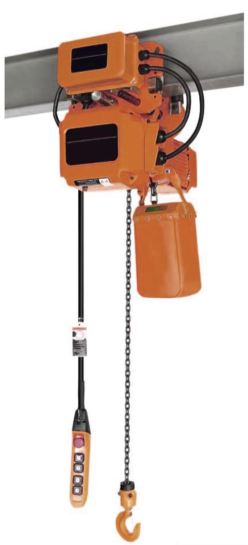 Таль цепная электрическая с дистанционным пультом
